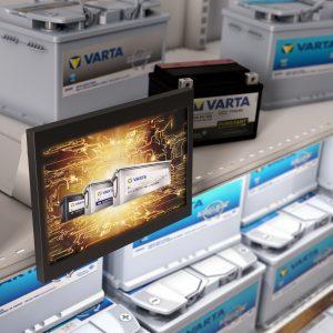 merchandising : Gondole Varta