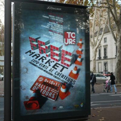 MUPI free Market de Tours 2011