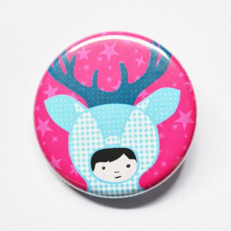 Badge raindeerBoy 32mm