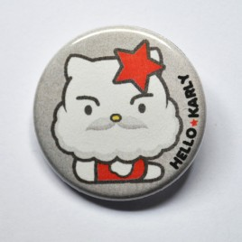 Badge Hello ★ Karly 32mm