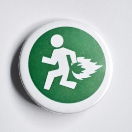Badge emergency 32mm