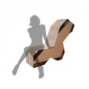 Fauteuil 3 positions fauteuil
