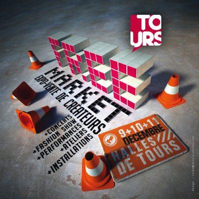 Flyer free market de Tours 2011