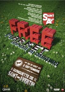 affiche Free Market Saint Avertin 2012